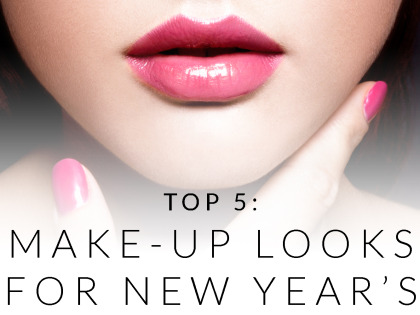 Top 5: Makeup Looks for New Year's